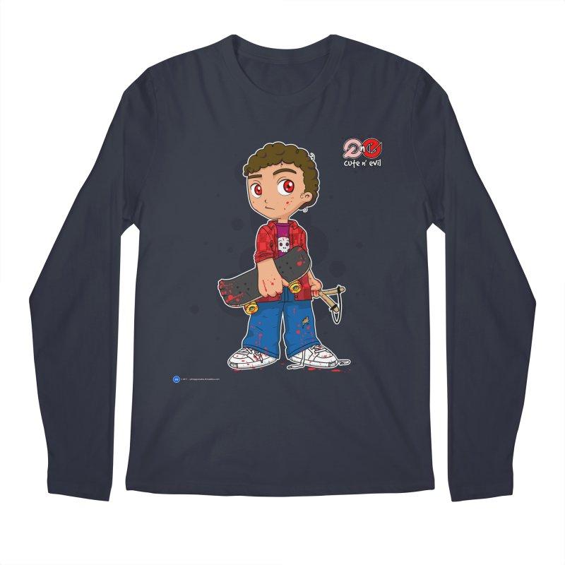 skateboard - cute n' evil Men's Longsleeve T-Shirt by Artist Shop.jpg