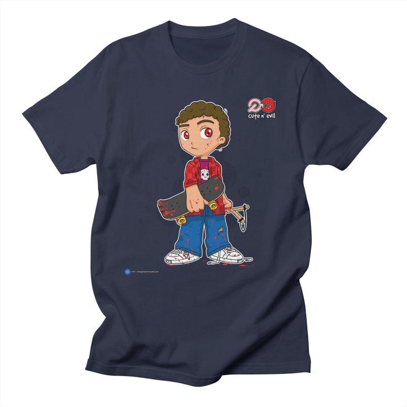skateboard - cute n' evil Men's T-Shirt by Artist Shop.jpg