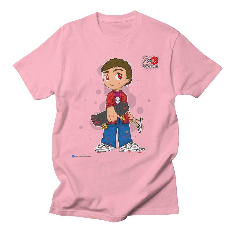 skateboard - cute n' evil Women's Unisex T-Shirt by Artist Shop.jpg