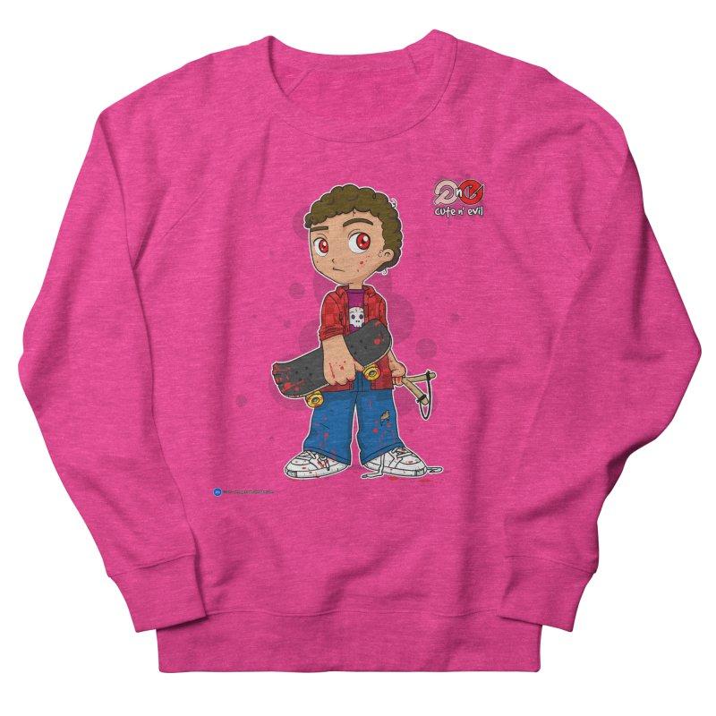skateboard - cute n' evil Men's Sweatshirt by Artist Shop.jpg