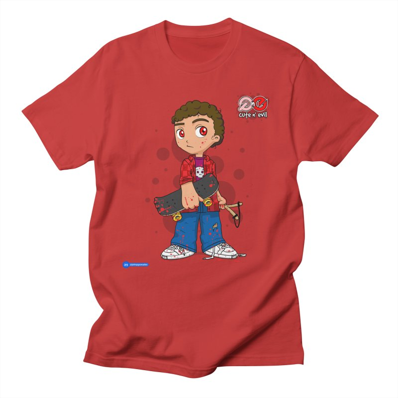 skateboard - cute n' evil Men's Regular T-Shirt by Juan Pablo Granados - .jpg