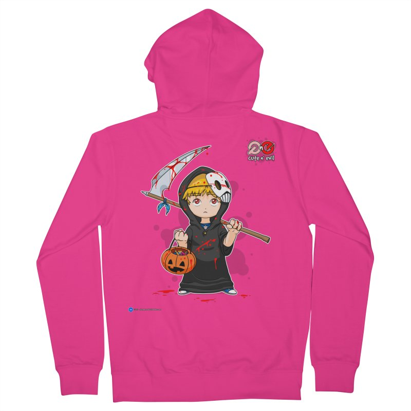 scythe - cute n' evil Men's Zip-Up Hoody by Artist Shop.jpg