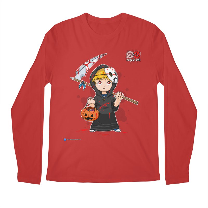 scythe - cute n' evil Men's Longsleeve T-Shirt by Artist Shop.jpg