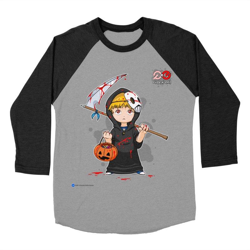 scythe - cute n' evil Women's Baseball Triblend T-Shirt by Artist Shop.jpg