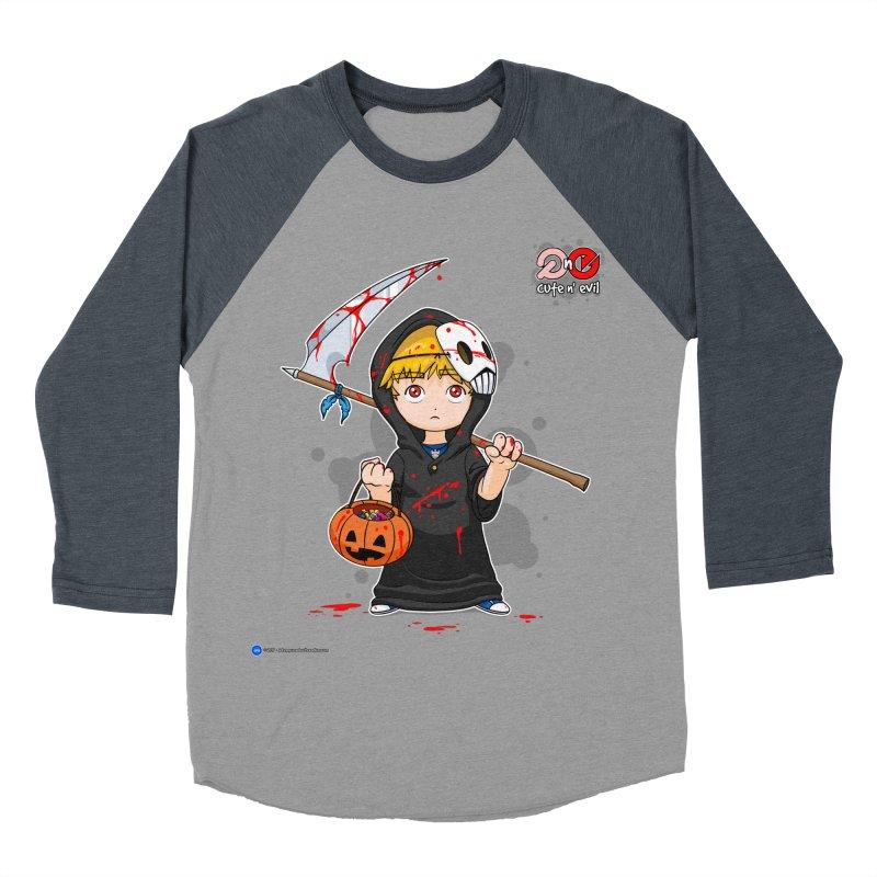 scythe - cute n' evil Men's Baseball Triblend T-Shirt by Artist Shop.jpg