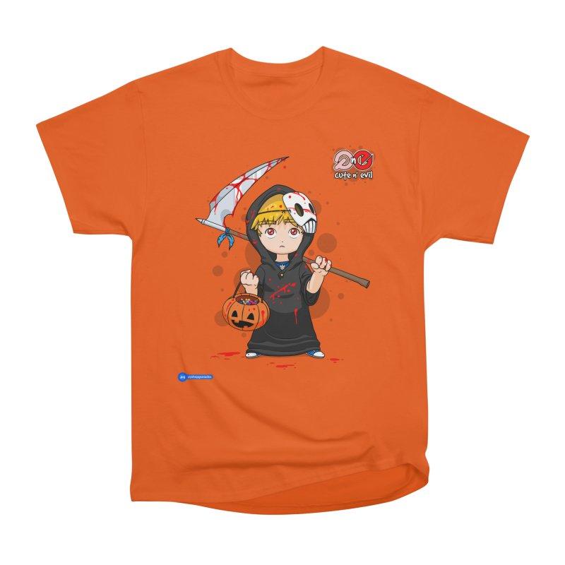 scythe - cute n' evil Women's Heavyweight Unisex T-Shirt by Juan Pablo Granados - .jpg