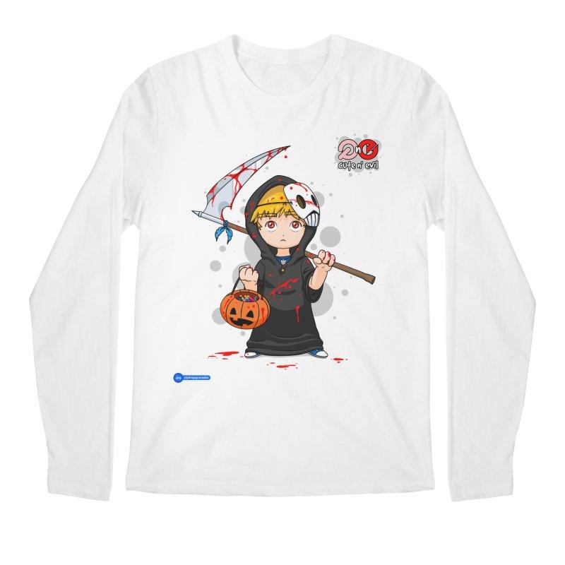 scythe - cute n' evil Men's Regular Longsleeve T-Shirt by Juan Pablo Granados - .jpg