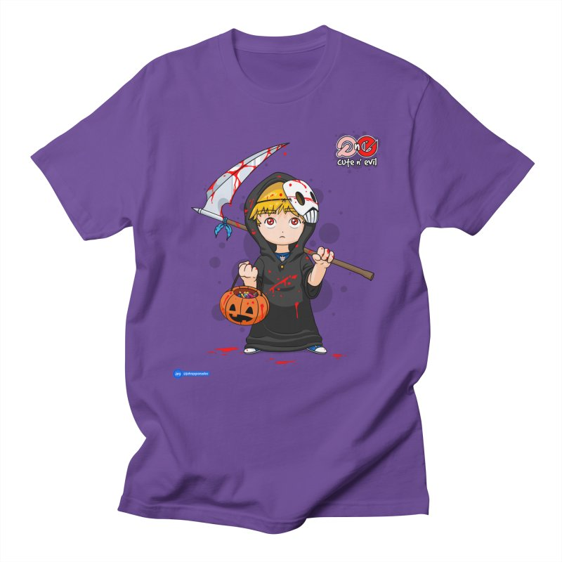 scythe - cute n' evil Women's Regular Unisex T-Shirt by Juan Pablo Granados - .jpg