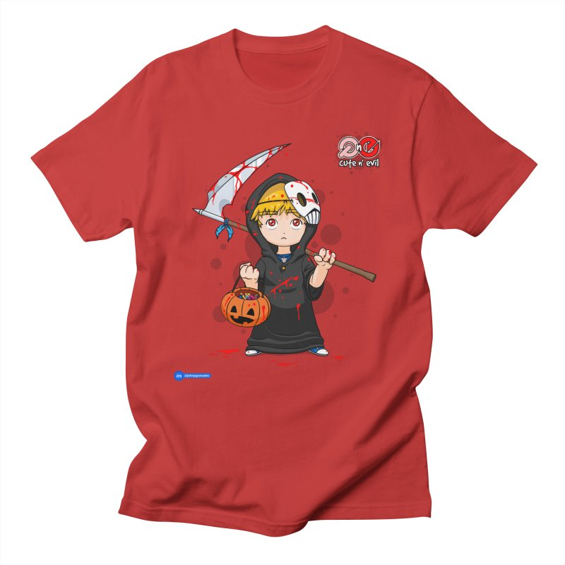 scythe - cute n' evil Men's Regular T-Shirt by Juan Pablo Granados - .jpg
