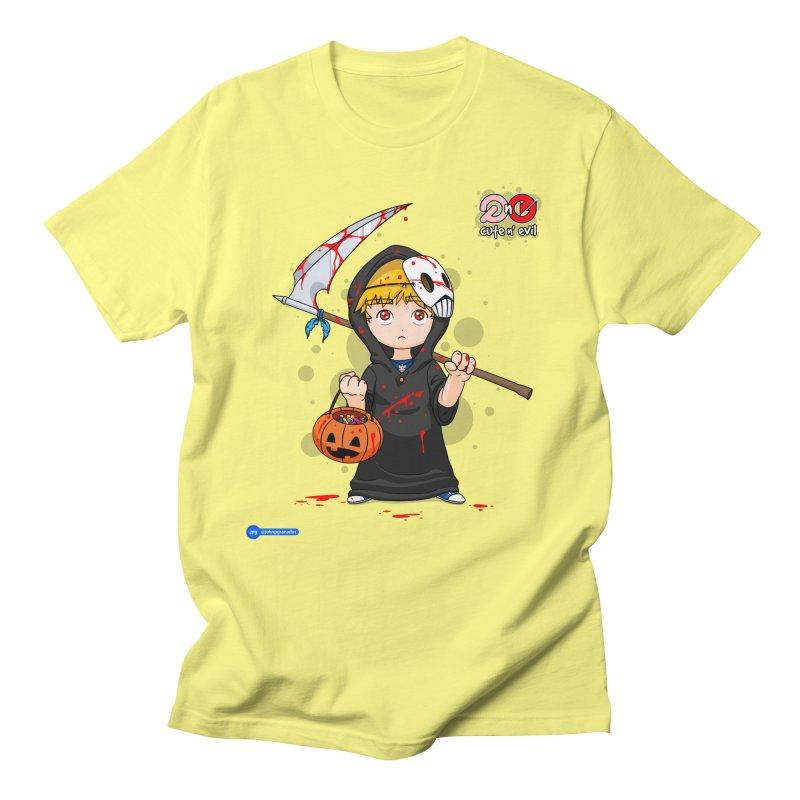scythe - cute n' evil Women's Regular Unisex T-Shirt by Juan Pablo Granados - .jpg