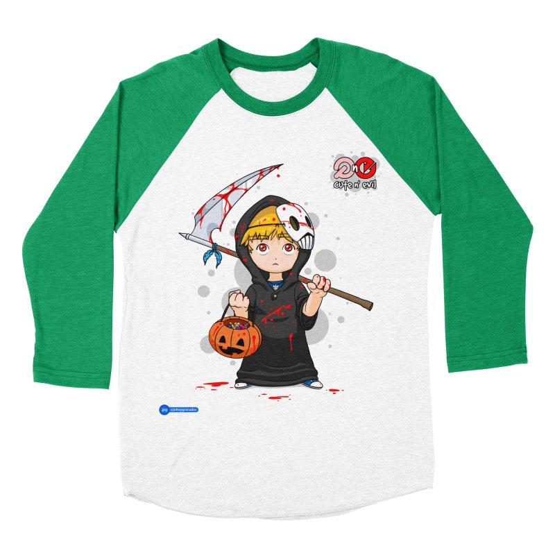 scythe - cute n' evil Women's Baseball Triblend T-Shirt by Juan Pablo Granados - .jpg