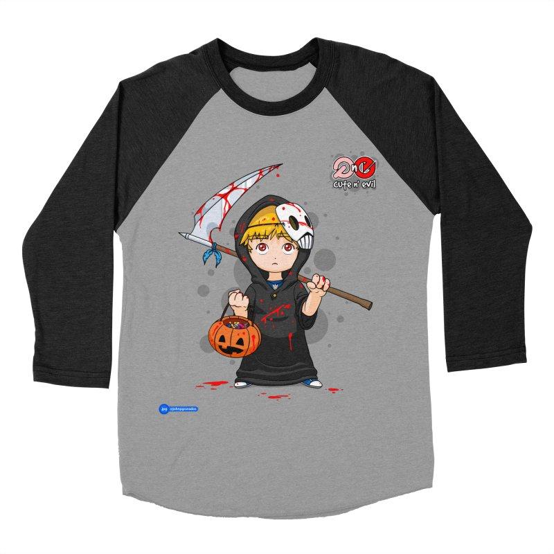 scythe - cute n' evil Women's Baseball Triblend Longsleeve T-Shirt by Juan Pablo Granados - .jpg