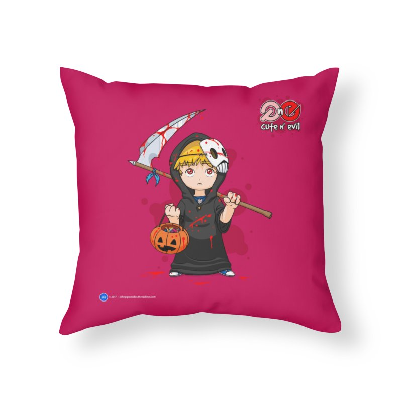 scythe - cute n' evil Home Throw Pillow by Artist Shop.jpg