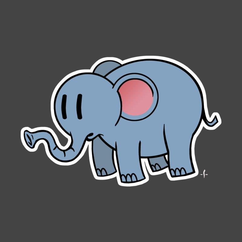 The Mysterious Little Elephant by John Sauer - Artist Shop