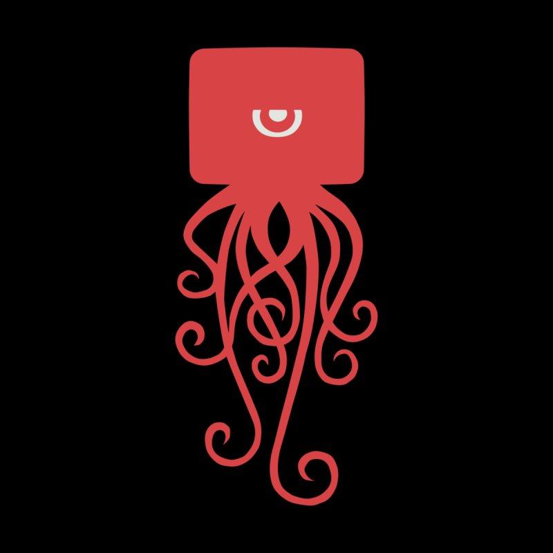 Red Squid Tee by John Sauer - Artist Shop