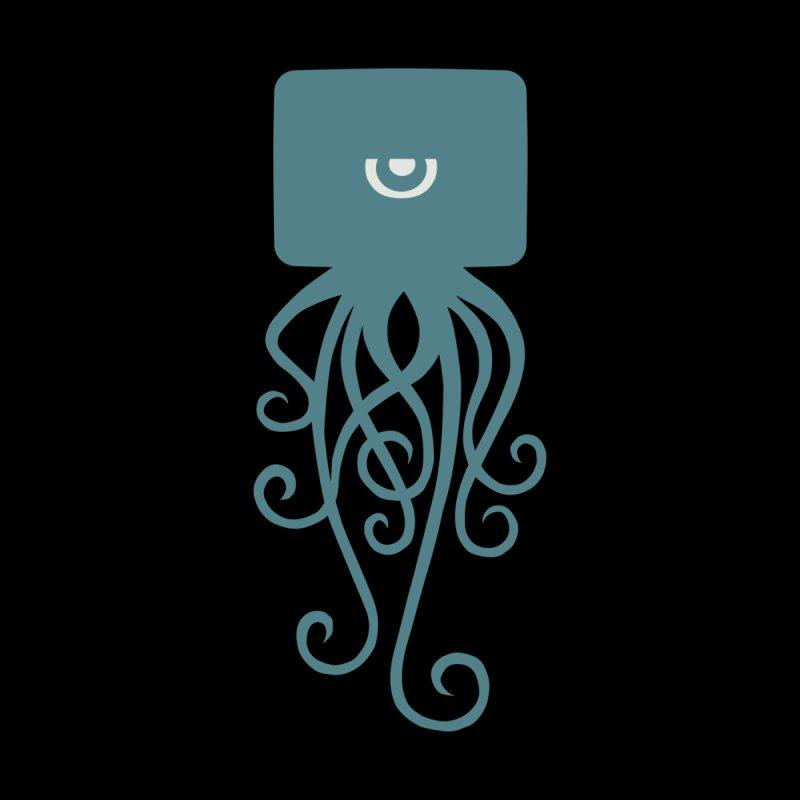 Blue Squid Tee by John Sauer - Artist Shop