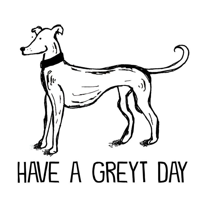Have a Greyt Day Kids Longsleeve T-Shirt by John Spencer's Artist Shop