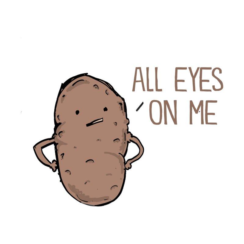 All Eyes on Me (Pun) Men's T-Shirt by John Spencer's Artist Shop
