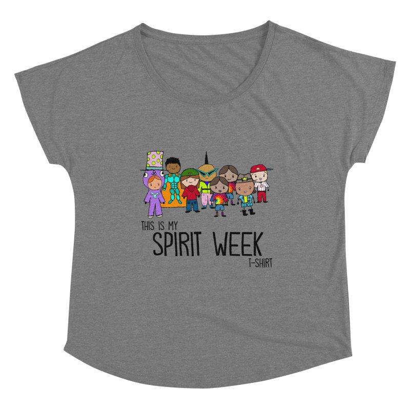 This Is My Spirit Week T-Shirt (Light) Women's Scoop Neck by John Spencer's Artist Shop