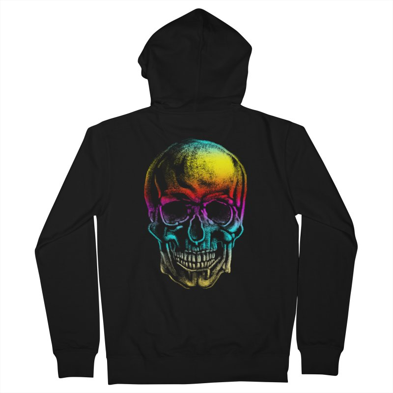 Drawn Death Men's Zip-Up Hoody by Johnthan's Supply