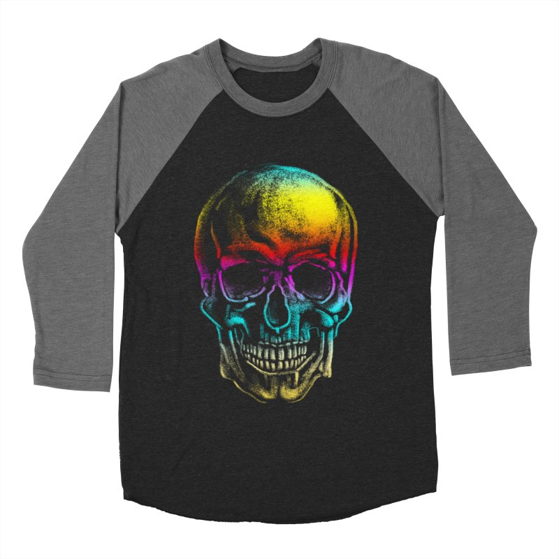 Drawn Death Women's Baseball Triblend Longsleeve T-Shirt by Johnthan's Supply