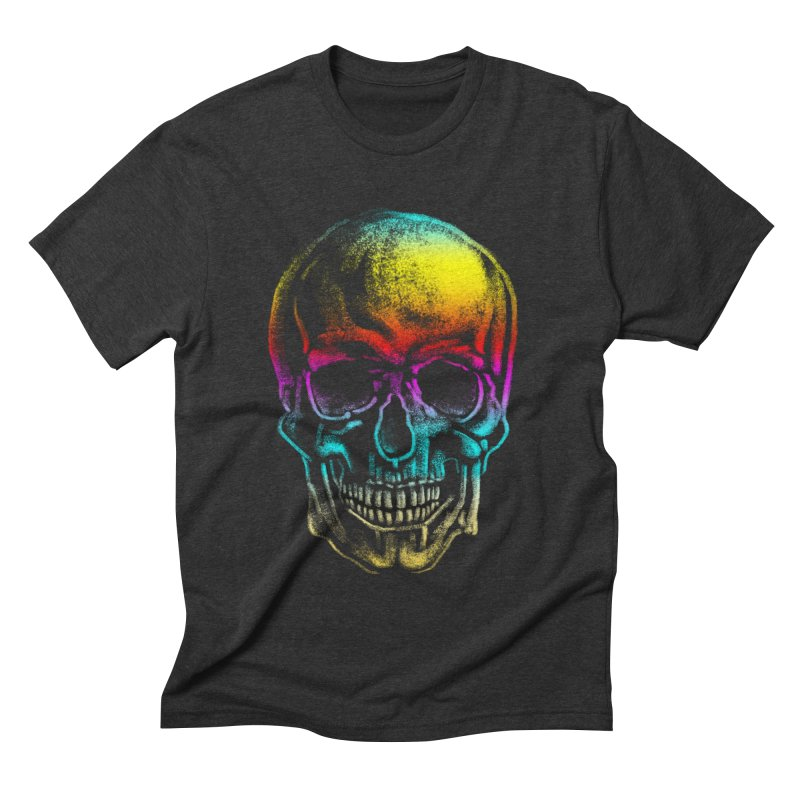 Drawn Death Men's Triblend T-shirt by Johnthan's Supply