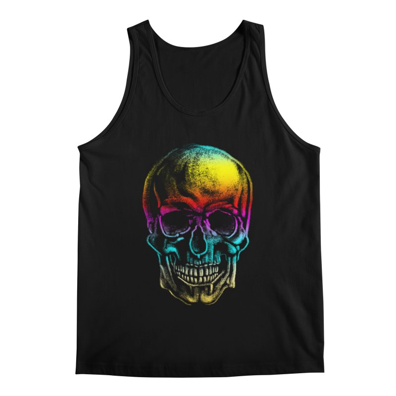 Drawn Death Men's Tank by Johnthan's Supply