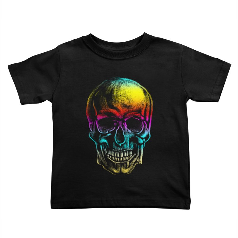 Drawn Death Kids Toddler T-Shirt by Johnthan's Supply