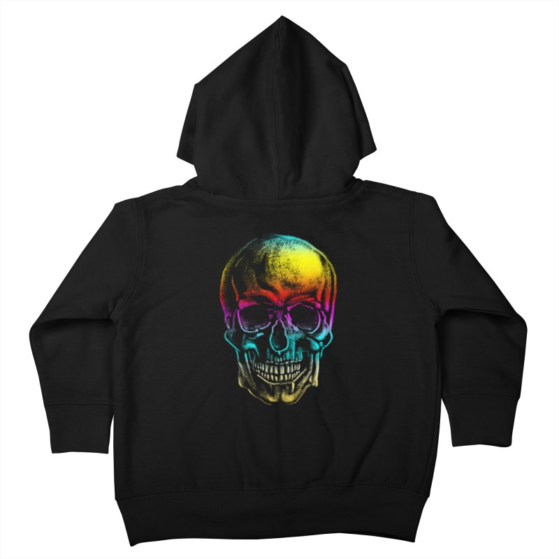 Drawn Death Kids Toddler Zip-Up Hoody by Johnthan's Supply