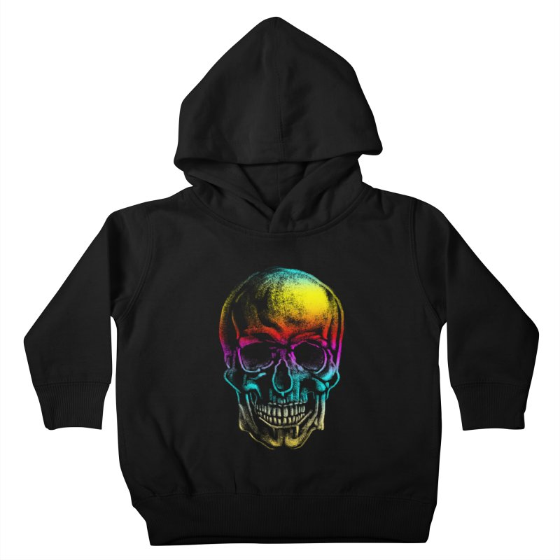Drawn Death Kids Toddler Pullover Hoody by Johnthan's Supply
