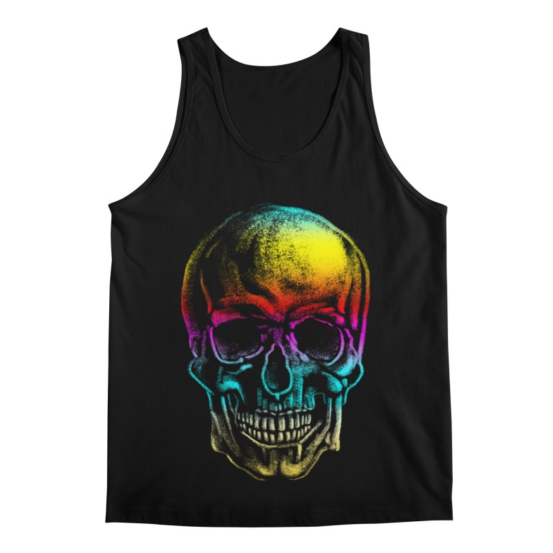 Drawn Death Men's Regular Tank by Johnthan's Supply