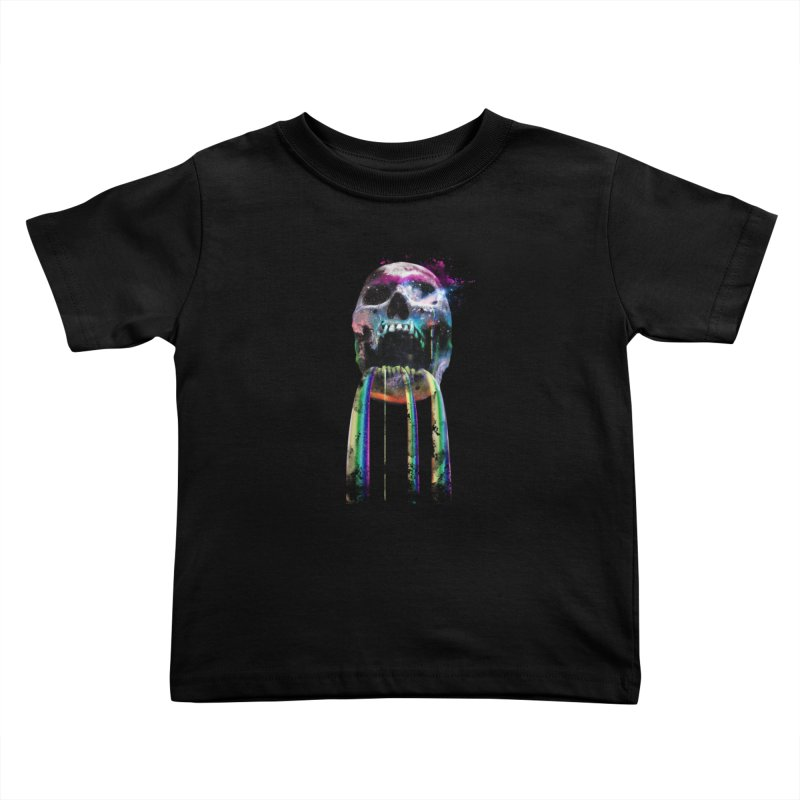 Cry me a rainbow Kids Toddler T-Shirt by Johnthan's Supply