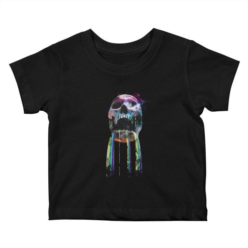 Cry me a rainbow Kids Baby T-Shirt by Johnthan's Supply