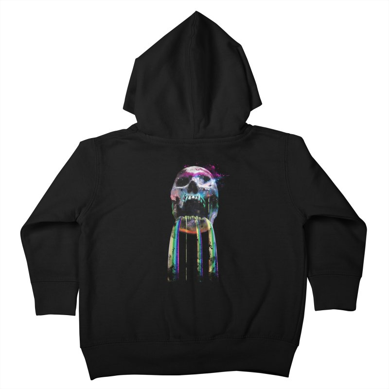 Cry me a rainbow Kids Toddler Zip-Up Hoody by Johnthan's Supply