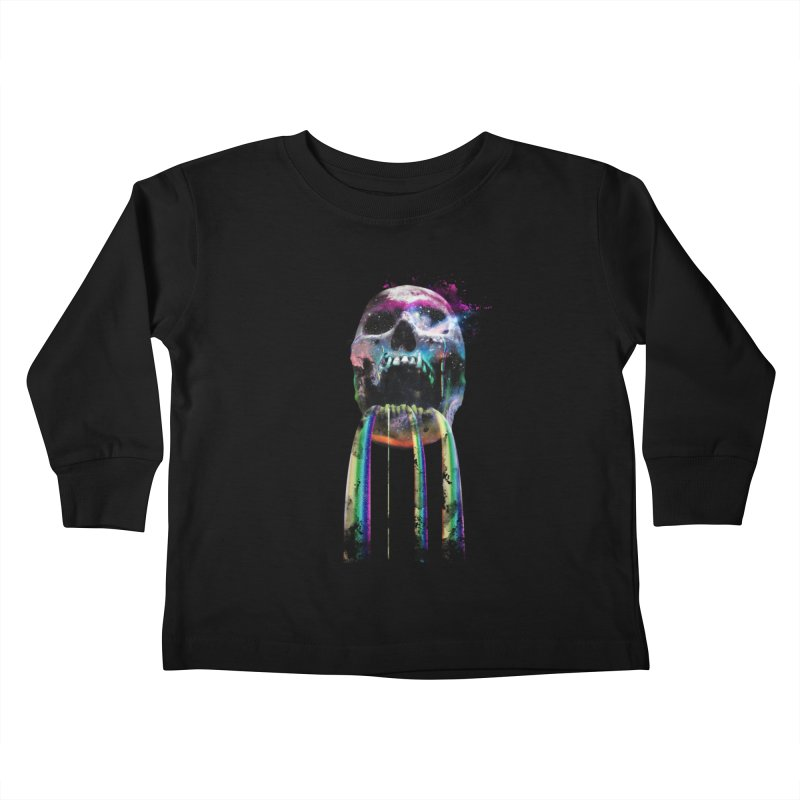Cry me a rainbow Kids Toddler Longsleeve T-Shirt by Johnthan's Supply
