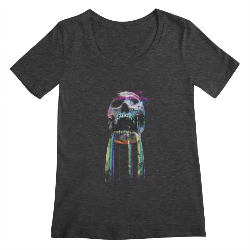 Cry me a rainbow Women's Scoopneck by Johnthan's Supply