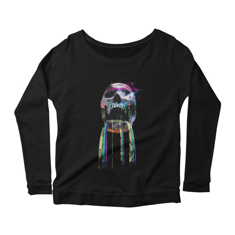 Cry me a rainbow Women's Longsleeve Scoopneck  by Johnthan's Supply