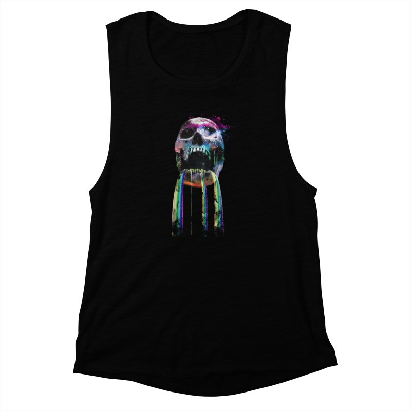 Cry me a rainbow Women's Muscle Tank by Johnthan's Supply