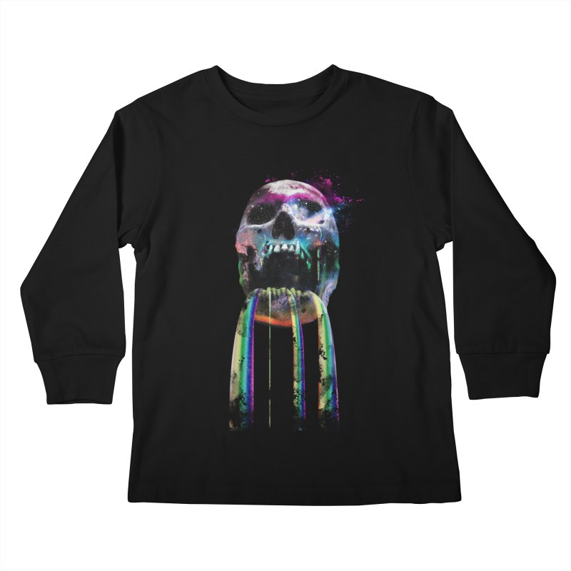 Cry me a rainbow Kids Longsleeve T-Shirt by Johnthan's Supply