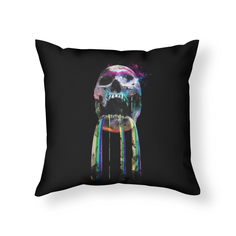 Cry me a rainbow Home Throw Pillow by Johnthan's Supply