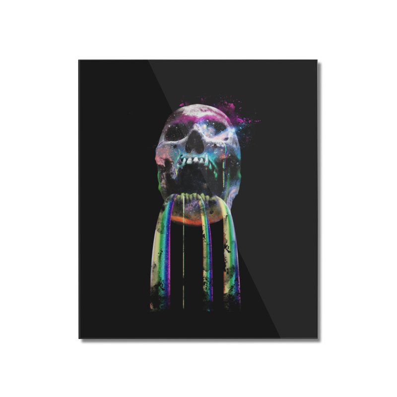 Cry me a rainbow Home Mounted Acrylic Print by Johnthan's Supply