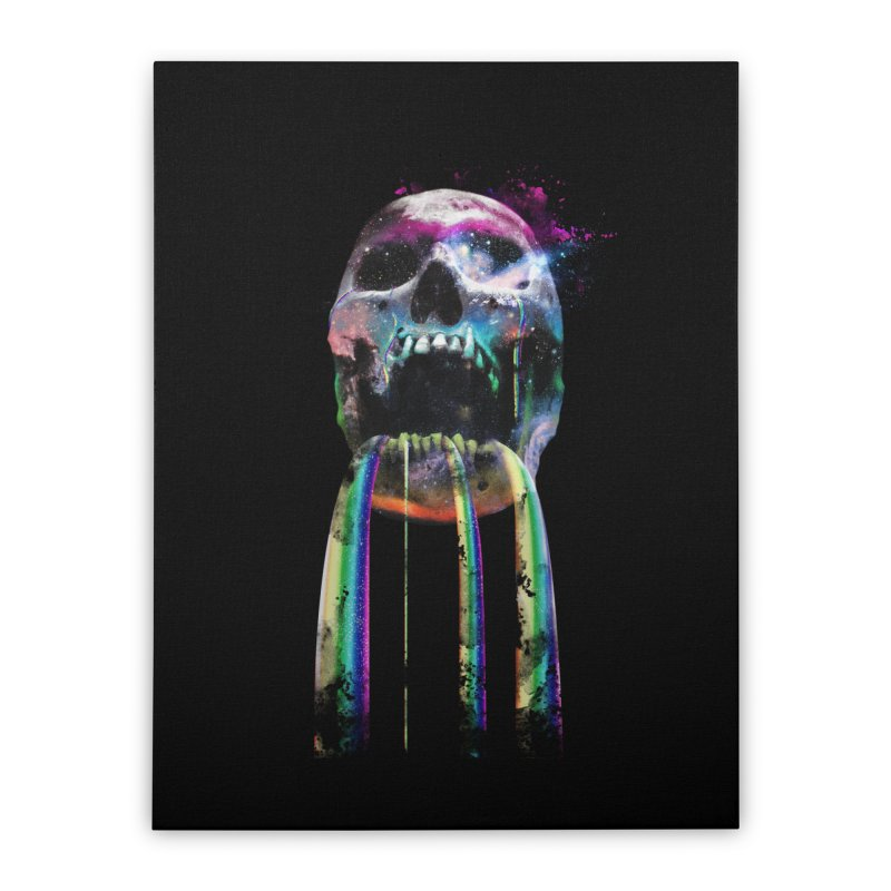 Cry me a rainbow Home Stretched Canvas by Johnthan's Supply