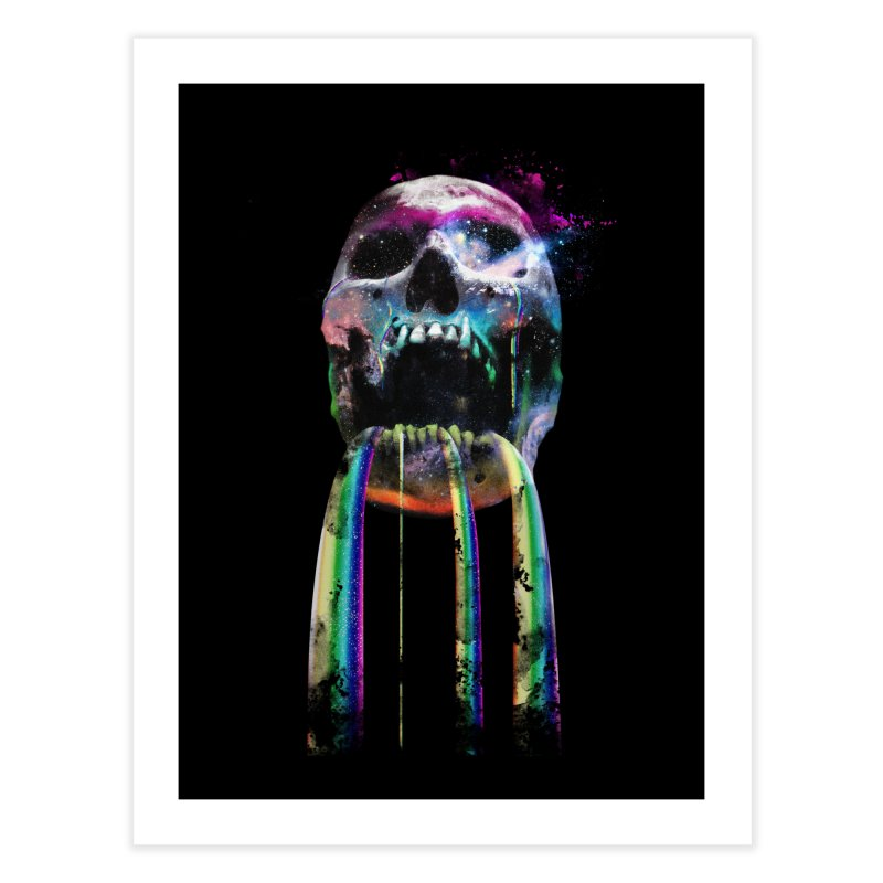 Cry me a rainbow Home Fine Art Print by Johnthan's Supply