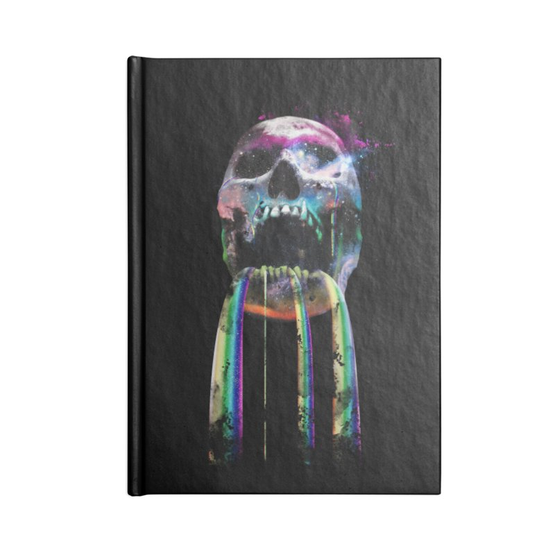 Cry me a rainbow Accessories Lined Journal Notebook by Johnthan's Supply
