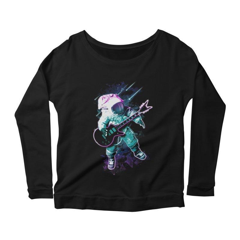 Star Boy Women's Scoop Neck Longsleeve T-Shirt by Johnthan's Supply