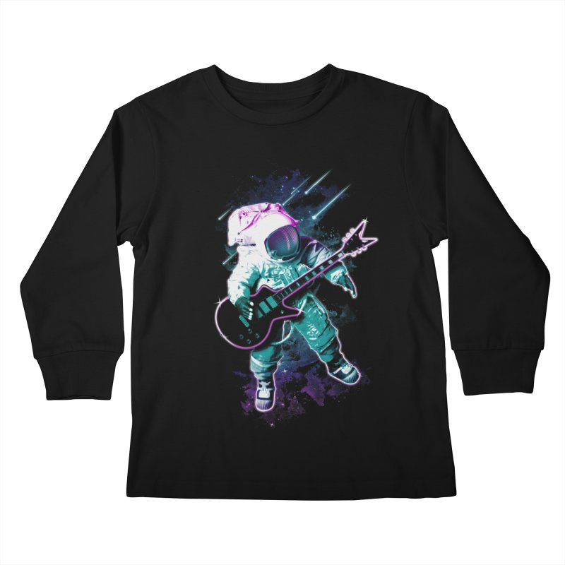 Star Boy Kids Longsleeve T-Shirt by Johnthan's Supply