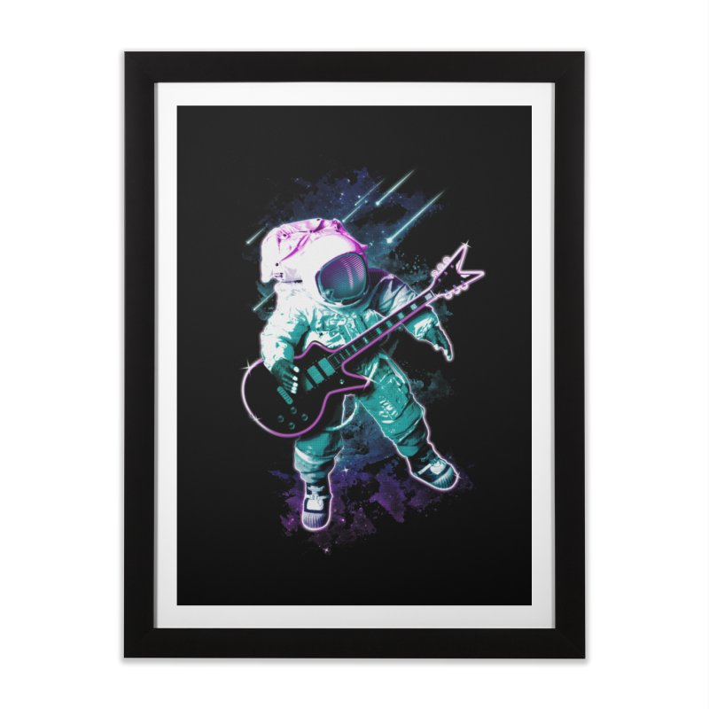Star Boy Home Framed Fine Art Print by Johnthan's Supply