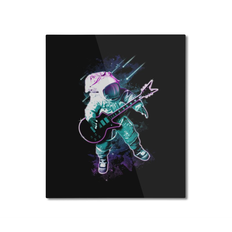 Star Boy Home Mounted Aluminum Print by Johnthan's Supply