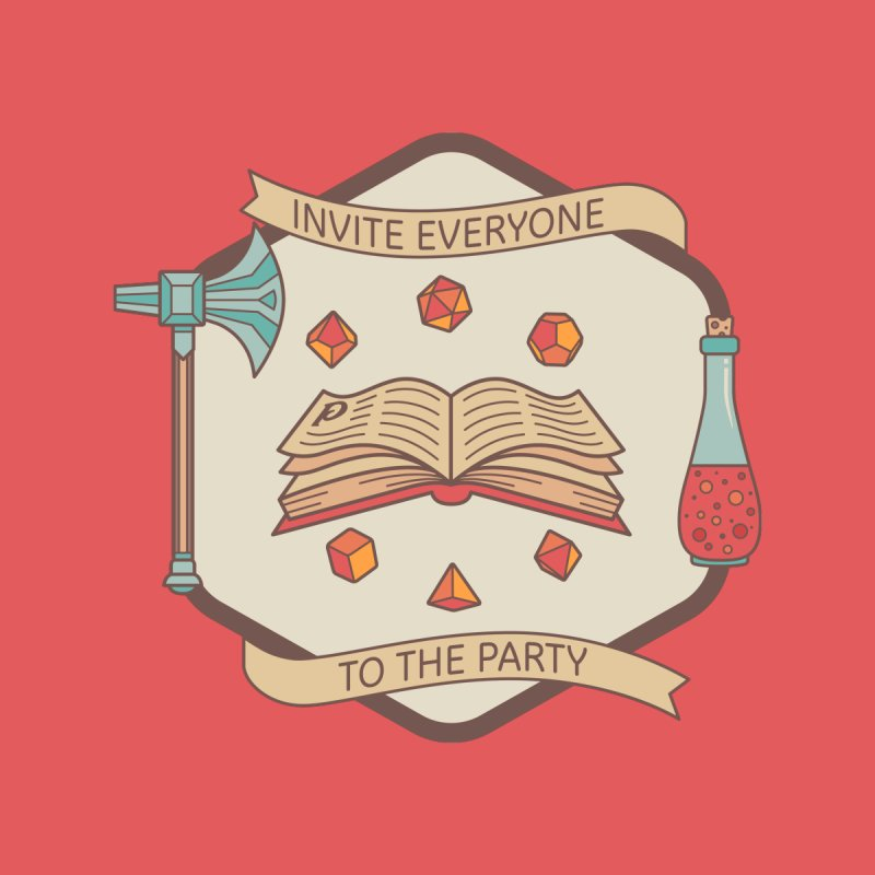 Invite Everyone to the Party by jointhepartypod's Artist Shop