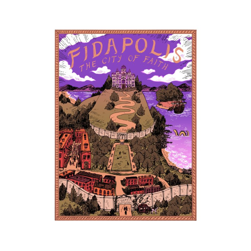 Fidapolis Poster by jointhepartypod's Artist Shop